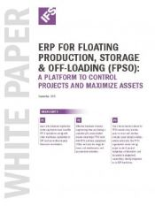 FPSO Software Selection White Paper