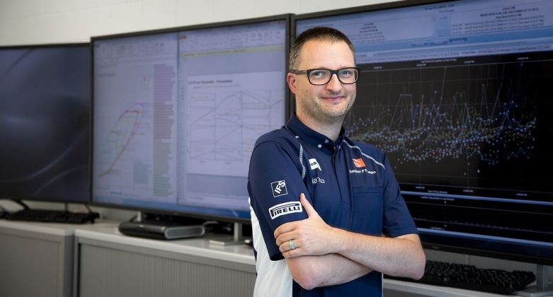 Damiano Molfetta, the Sauber F1 Team's Head of Systems Engineering