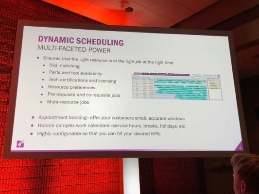 Using IFS FSM and IFS Planning & Scheduling Optimization together to optimize service delivery