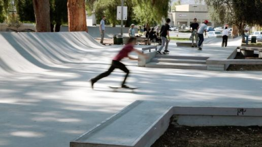 Tony Hawk Foundation Skatepark in Los Angeles