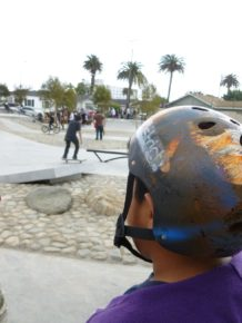 Young Skater at a Tony Hawk Foundation Park