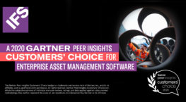Gartner Peer Insights Customers' Choice for Enterprise Asset Management Software