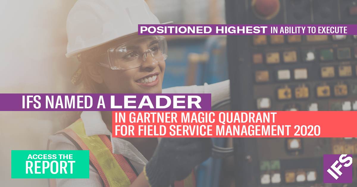 Gartner Field Service Magic Quadrant