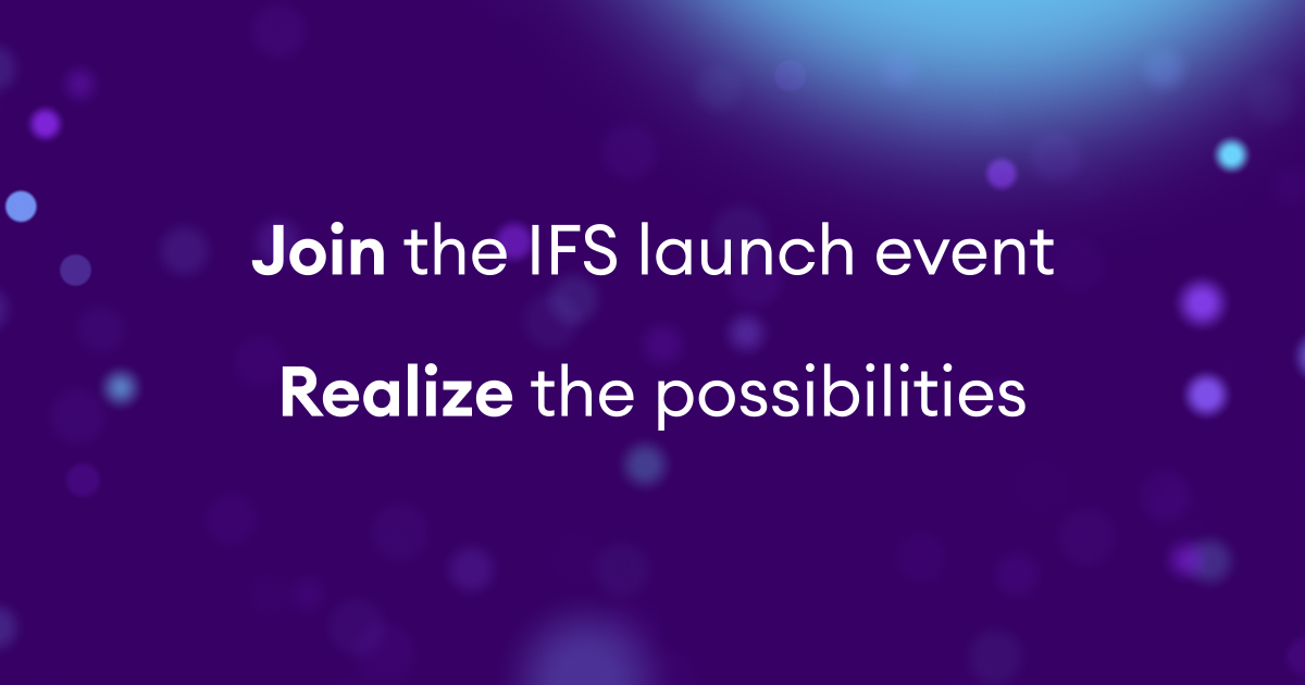 IFS Cloud Launch