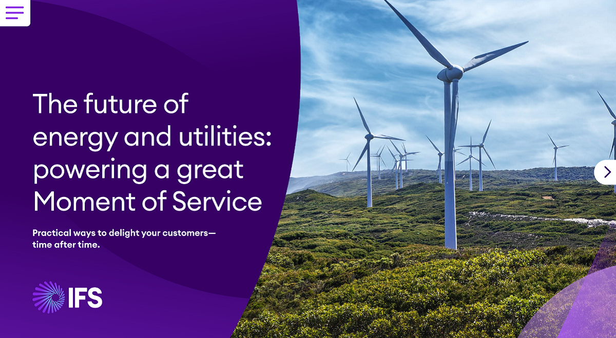 IFS Cloud for Energy and Utilities